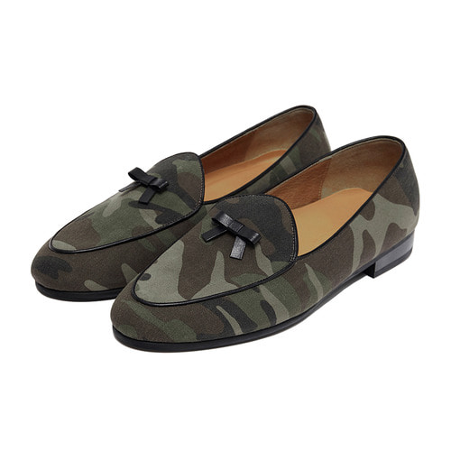 -[PAUL HAN] BELGIAN LOAFER - CAMO