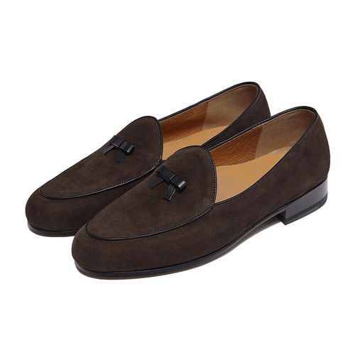 -[PAUL HAN] BELGIAN LOAFER - DARK BROWN
