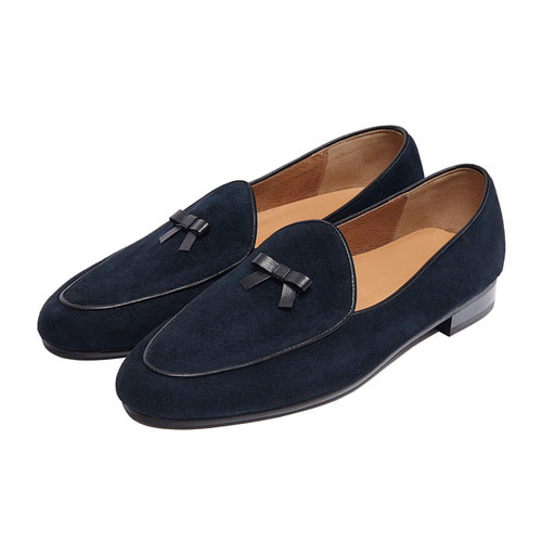 -[PAUL HAN] BELGIAN LOAFER - DARK NAVY