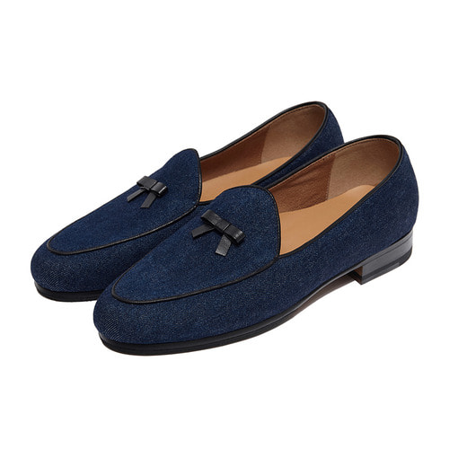 -[PAUL HAN] BELGIAN LOAFER - DENIM