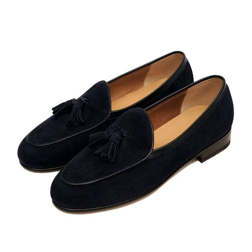 -[PAUL HAN] BELGIAN LOAFER - navy 2