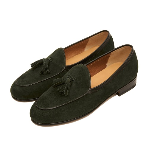 -[PAUL HAN] BELGIAN LOAFER - dark green