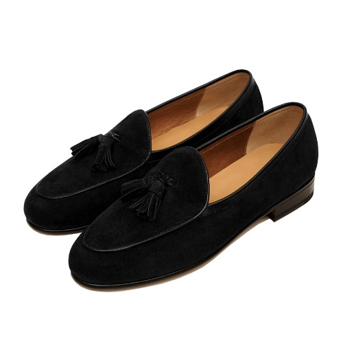 -[PAUL HAN] BELGIAN LOAFER - BLACK