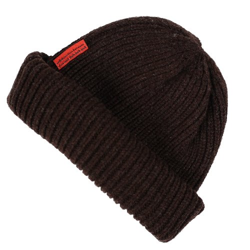 [FRUI]THE FINEST LAMBSWOOL BEANIE_BROWN