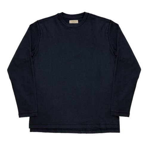 [SORTIE]3N605 Crew neck T-Shirts (Navy)