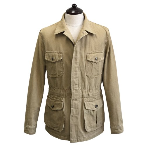 [SORTIE]Washed Fatigue Jacket (Beige)