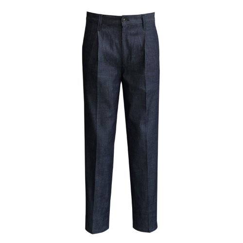 [SORTIE]Raw Denim Trousers (Blue)