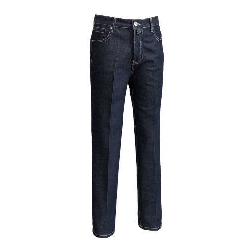 [SORTIE]Raw Tailored Denim Jeans (Navy)