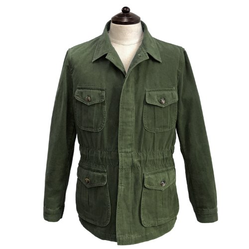 [SORTIE]Washed Fatigue Jacket (Khaki)