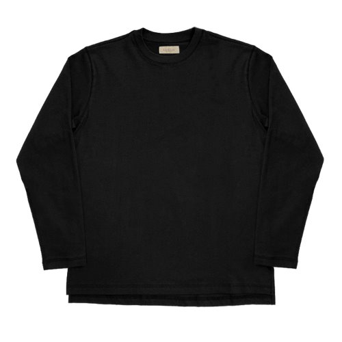 [SORTIE]3N605 Crew neck T-Shirts (Black)