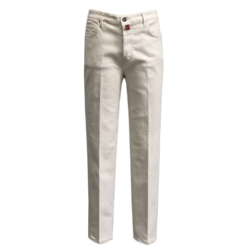 [SORTIE] 629 Tailored Denim Jeans (Ivory)
