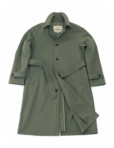 ORTUS VASTERDS[ORTUS VASTERDS] Single Trench Coat KHAKI