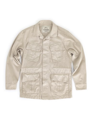 [ORTUS VASTERDS]GARMENT FATIGUE JACKET SAND
