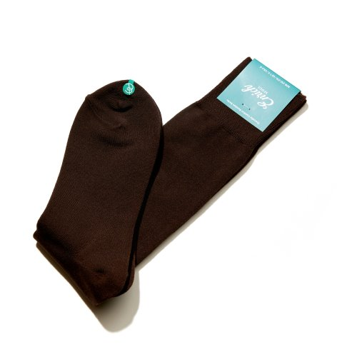 ENRICH[Enrich] Bamboo Socks - Brown Solid