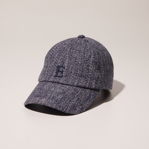 ENRICH2 With Cap - 인리치 이니셜 E 로고 볼캡 (Blue Charcoal)