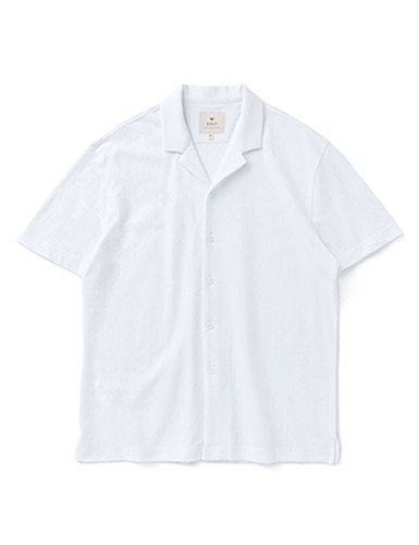 IOLO[IOLO] Mesh Cotton Shirt_white