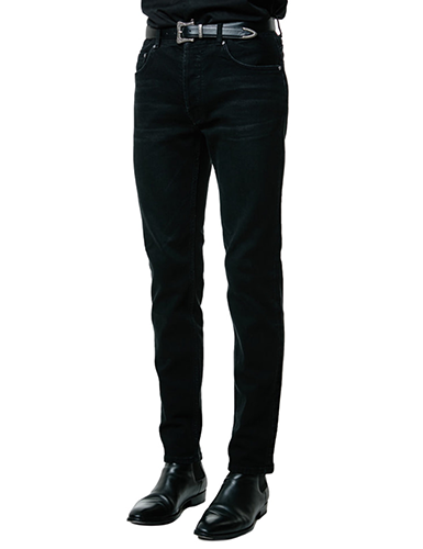 SAVAGE[SAVAGE] Slim Fit Denim - Black