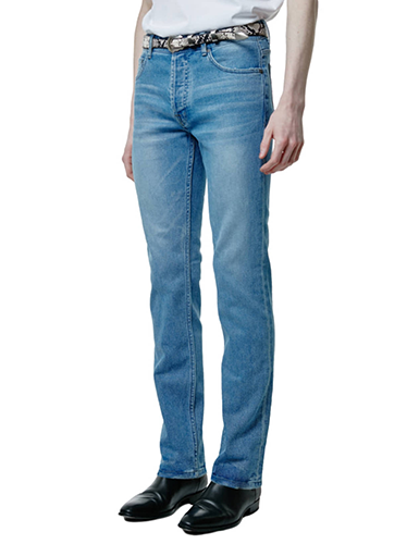 SAVAGE[SAVAGE] Slim Fit Denim - Blue