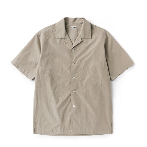 ESFAI[ESFAI]  sue02 summer standard shirts (Light Beige)
