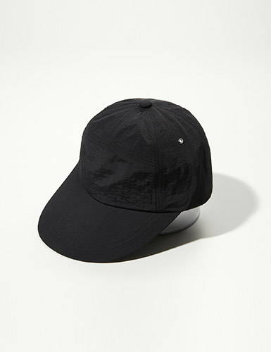 ENRICH[enrich] 7 Panel Fashion Cap - All Black