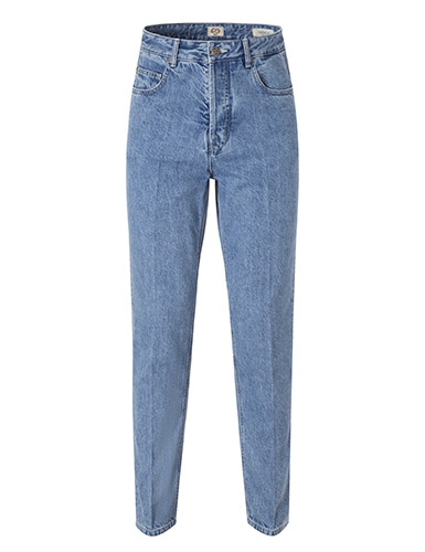 -[FIDUCIA] Ombelico light blue jean