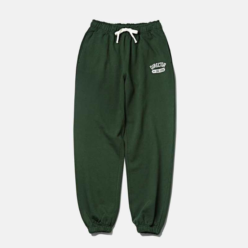 -[DTRO+AFST] DTRO+AFST DIRECTOR SWEAT PANTS FOREST GREEN