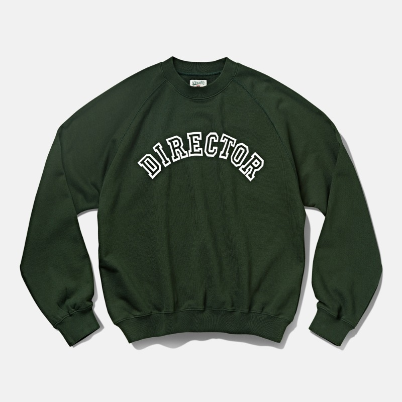 -[DTRO+AFST] DTRO+AFST DIRECTOR SWEAT SHIRTS FOREST GREEN