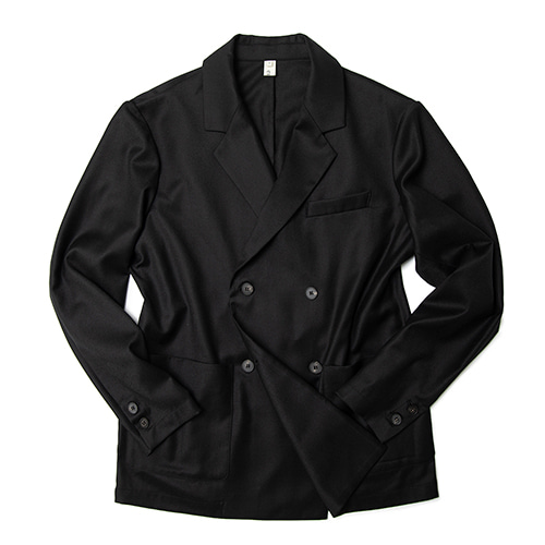-[ERD] French double jacket black