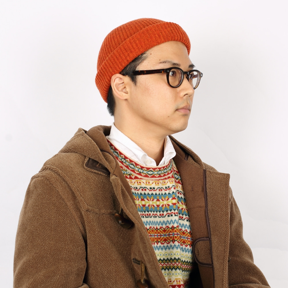 -[FRUI]THE FINEST LAMBSWOOL BEANIE_RED
