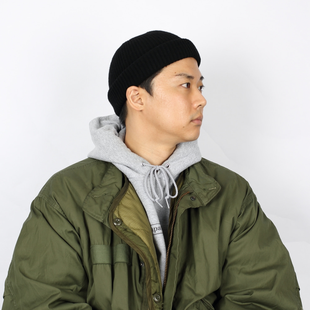 -[FRUI]THE FINEST LAMBSWOOL BEANIE_BLACK