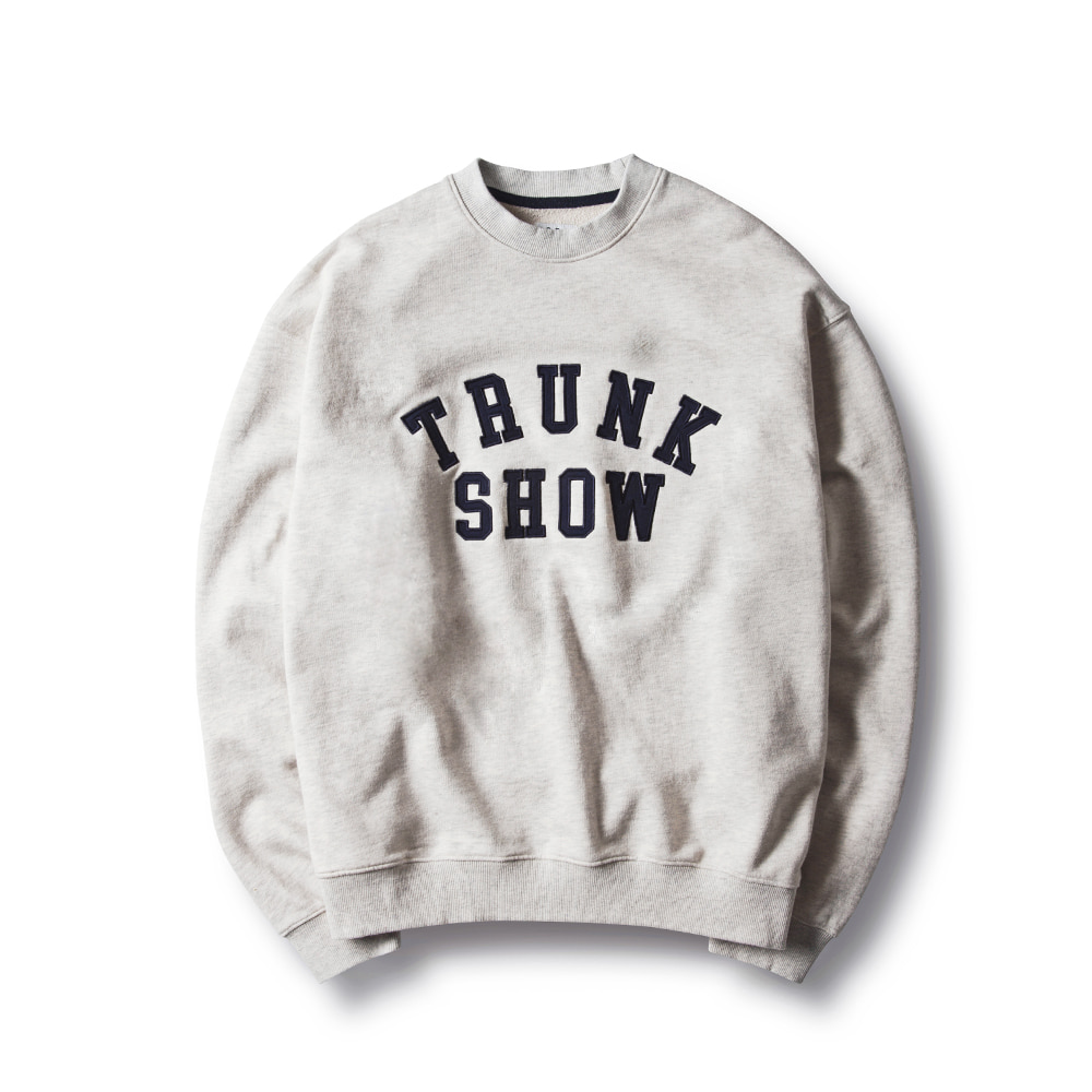 -[ESFAI] TRUNK SHOW SWEAT SHIRTS (OATMEAL)