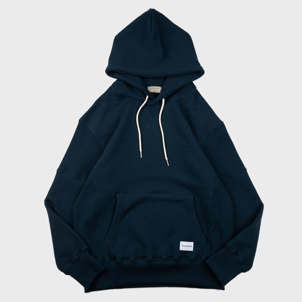 -[COLDWARM] Sweat Hoodie - Deep Green