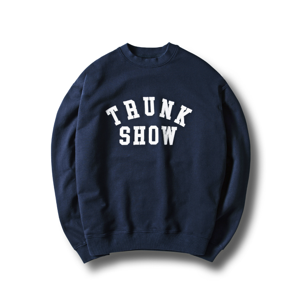 -[ESFAI] TRUNK SHOW SWEAT SHIRTS(NAVY)