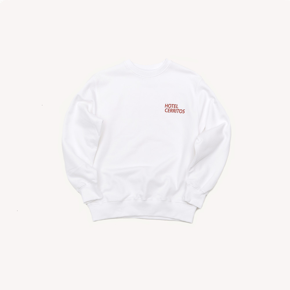 -[HOTEL CERRITOS] HC Sweat-shirt [White]
