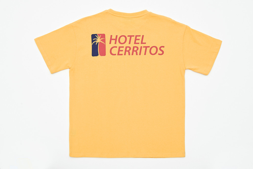 -[HOTEL CERRITOS] HC T-Shirt [Yellow]