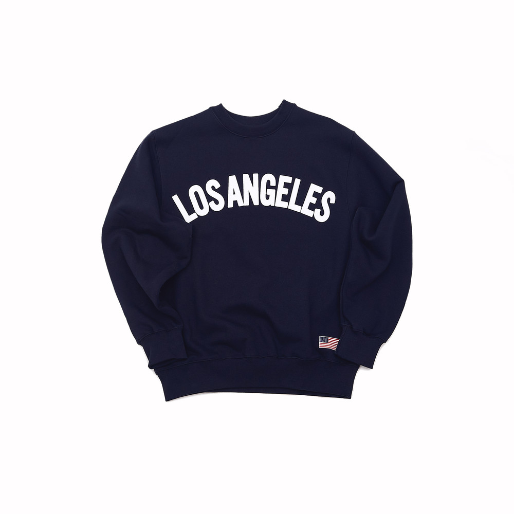 -[HOTEL CCERITOS] Los Angeles Sweat-shirt [Navy]