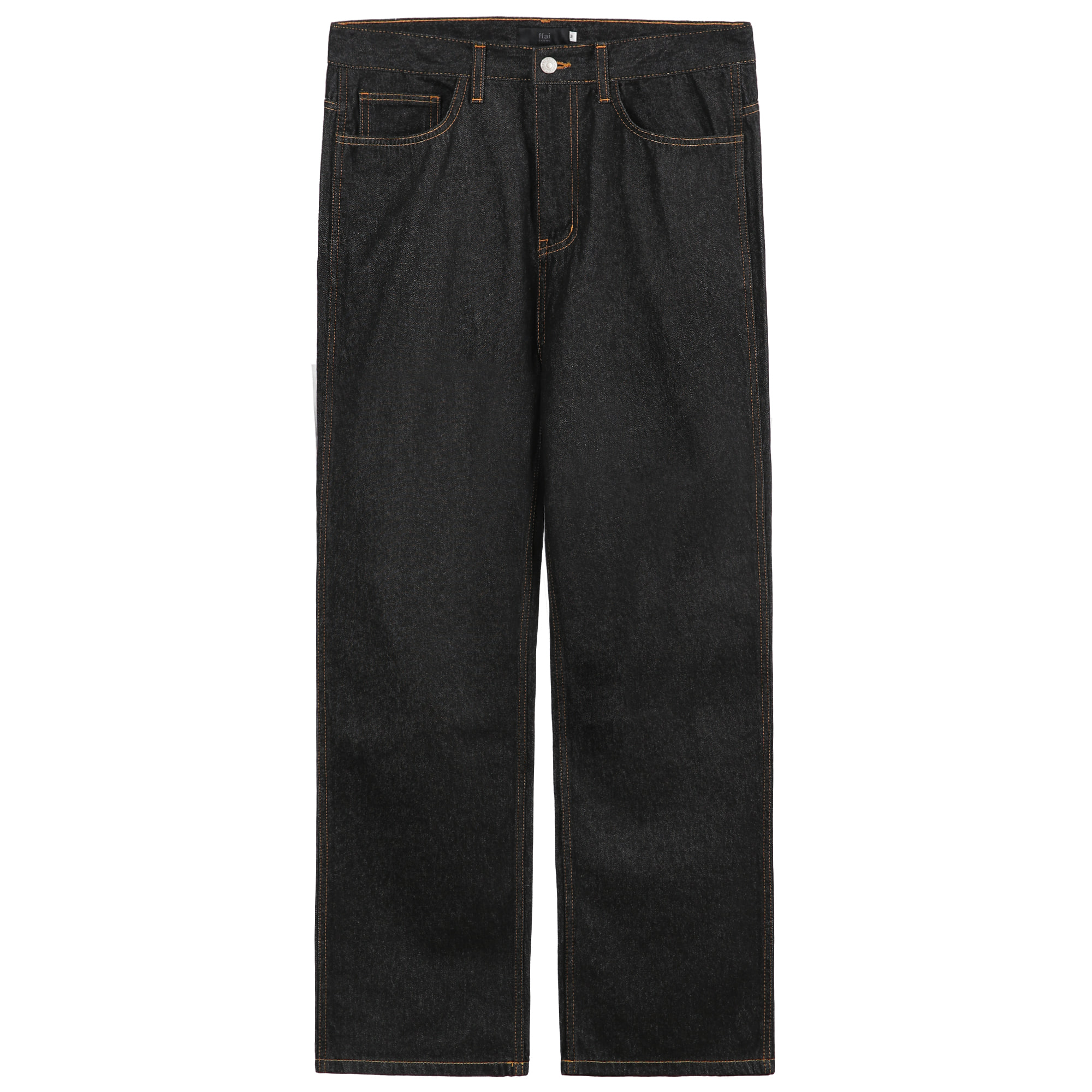 -[FFAI] - PN.01 WIDE DENIM (BLACK)