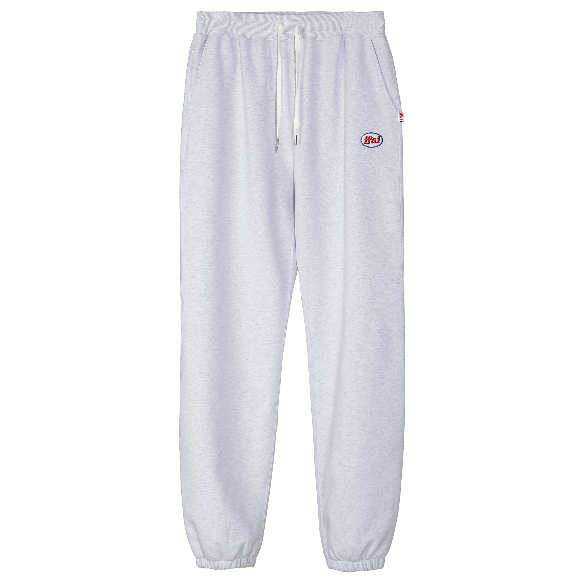 -[FFAI]  - OP.30 SWEAT PANTS (WHITE MELANGE)
