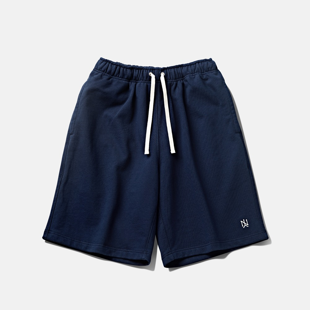 -[DEUTERO] DTR1939 90's Y.N. LOGO Short navy