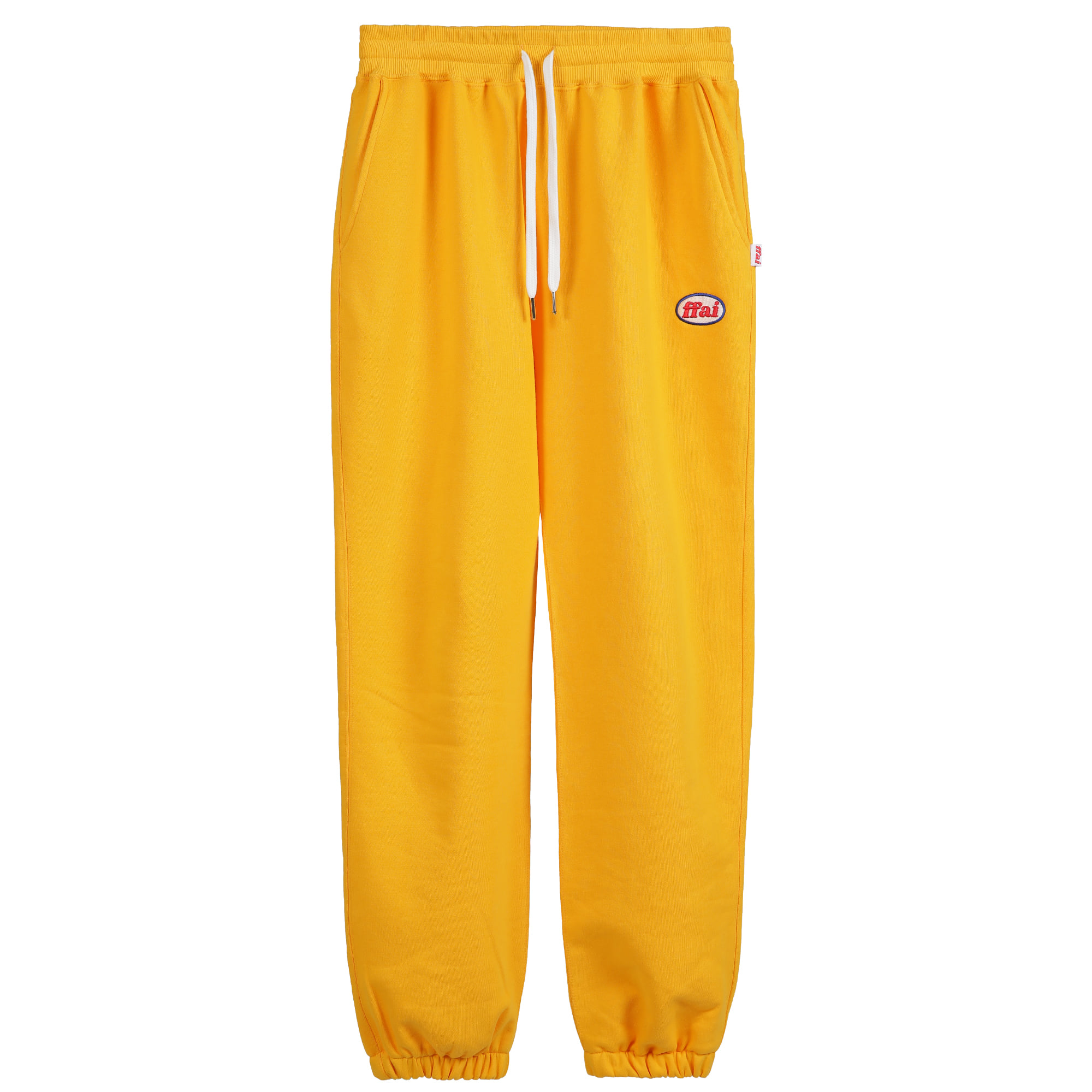 -[FFAI]  - OP.30 SWEAT PANTS (YELLOW)