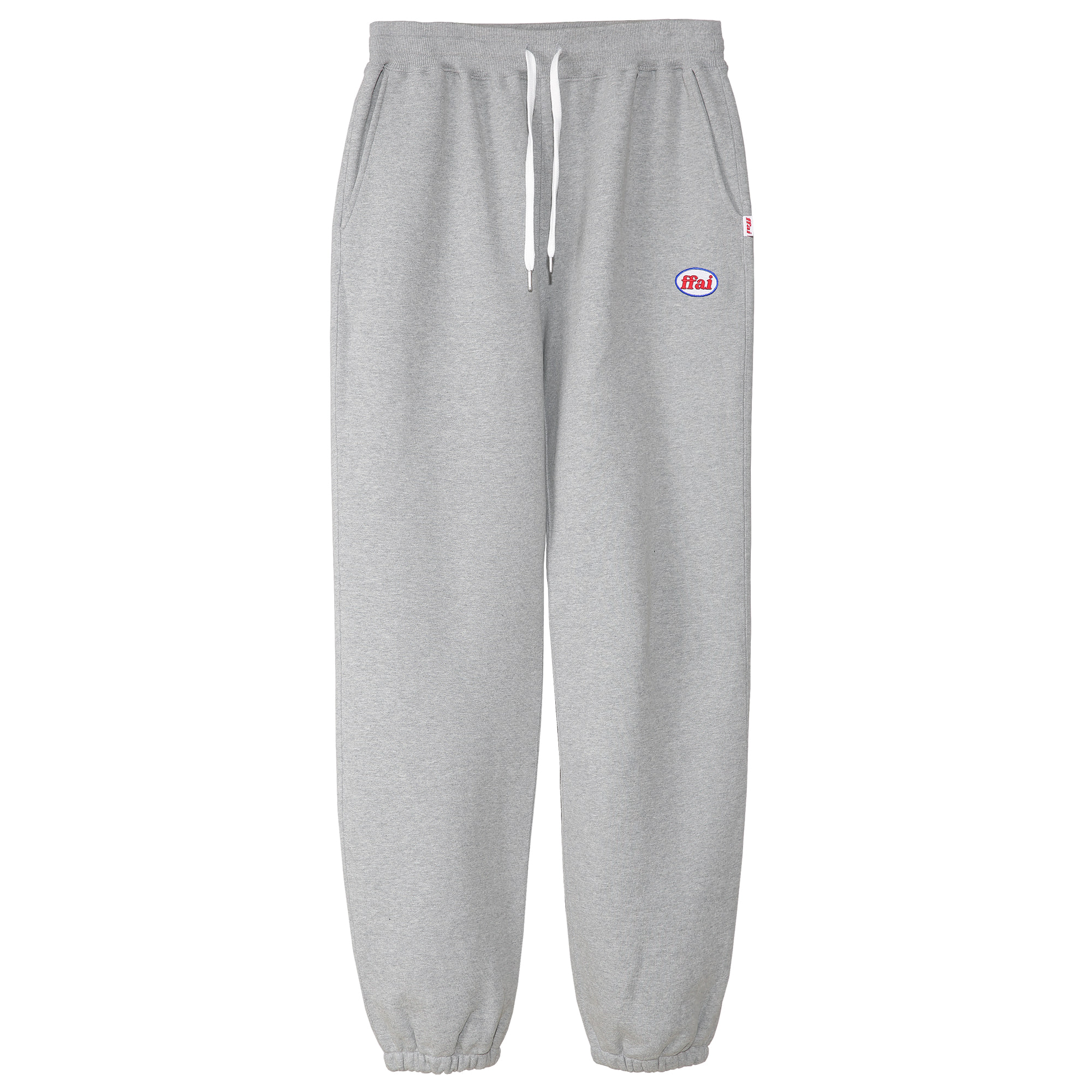 -[FFAI]  - OP.30 SWEAT PANTS (MELANGE GRAY)