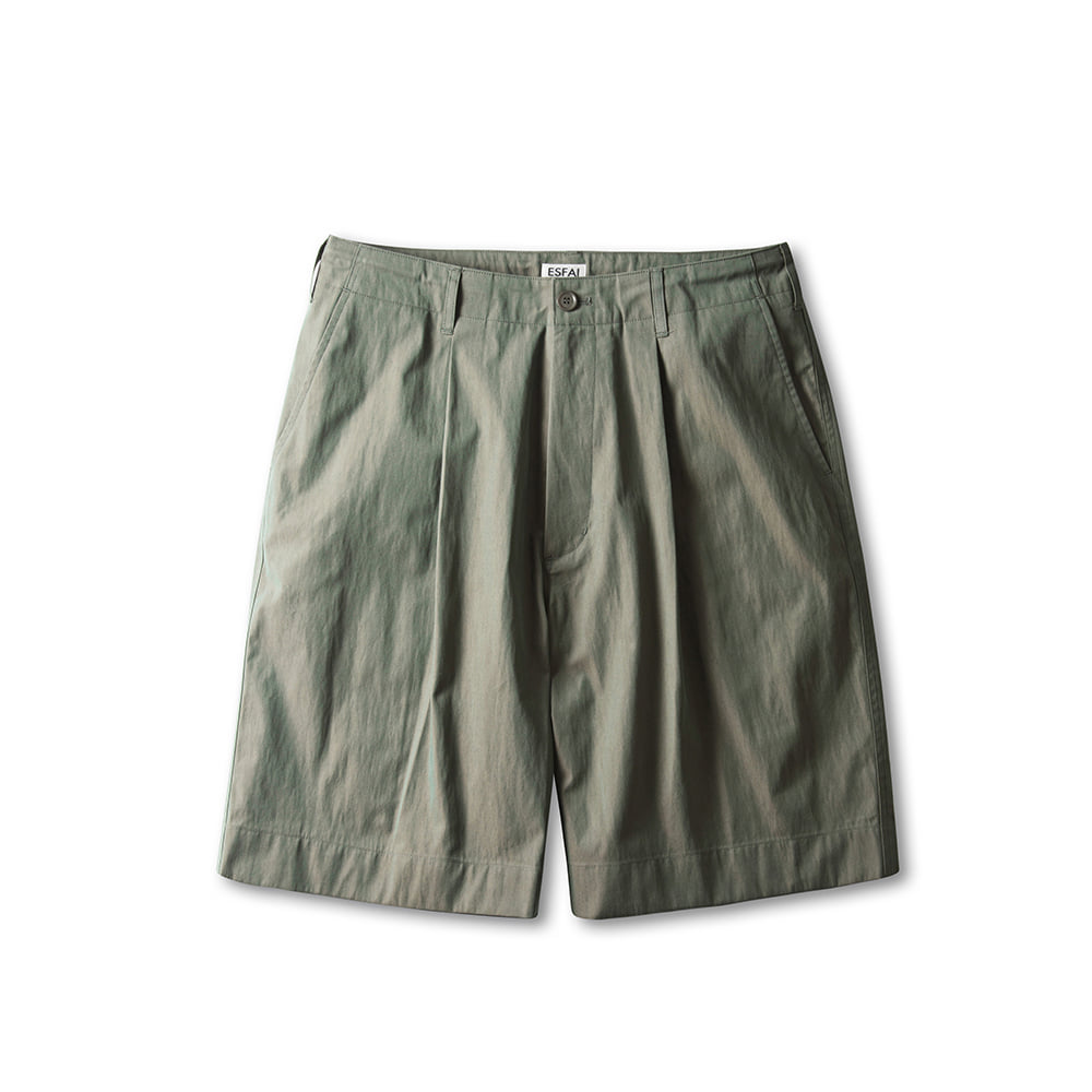 -[ESFAI] SOLARO WIDE SHORTS (GREEN)